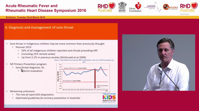 Advances in ARF, RHD Research and Technology Professor Jonathan Carapetis