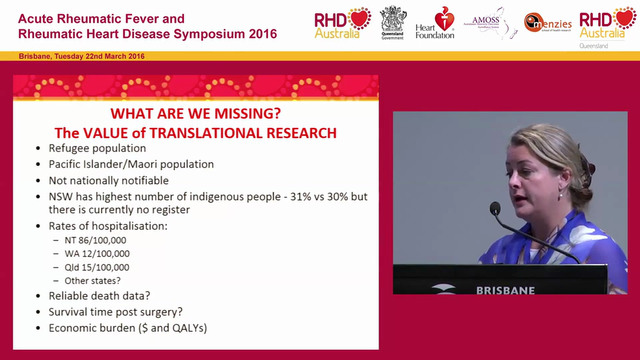 The Australian Rheumatic Fever strategy and the role of RHD Australia Clare Boardman