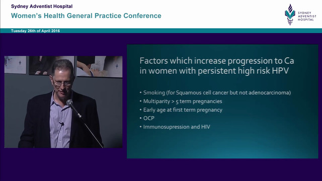 New Cervical Screening Guidelines Associate Professor John Keogh