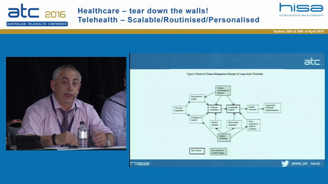 Bringing scale to telehealth in Australia. How do we tear down the barriers Panel Discussion