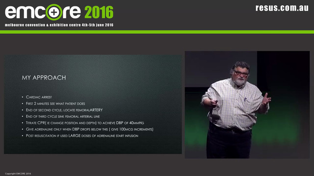 Invasive resuscitation A Prof Peter Kas