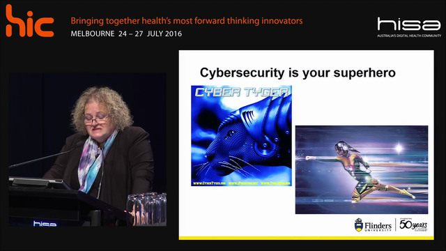 Innovation's urgency A cybersecurity perspective Prof Trish Williams