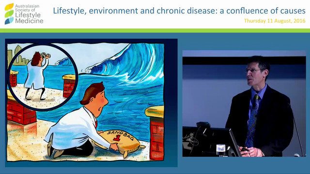 Lifestyle is the Medicine - what's the spoon Dr David Katz Director Prevention Research Center Yale University