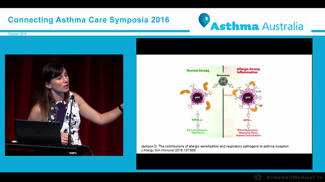Asthma predictors from infancy to adu...