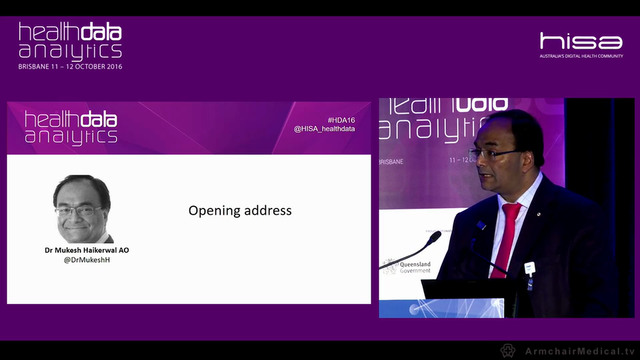 Opening Address Dr Mukesh Haikerwal AO Board Chair, Australian Institute of Health and Welfare