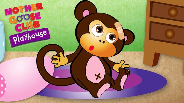 Mother Goose Club Playhouse - Five Little Monkeys