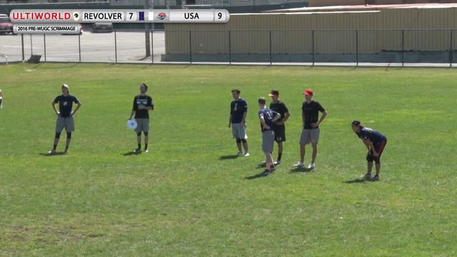 USA Men's National Team v. Revolver