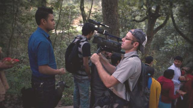 Camera Goes Down in Kathmandu