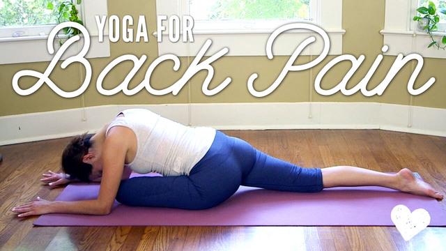 Yoga For Back Pain - Basics