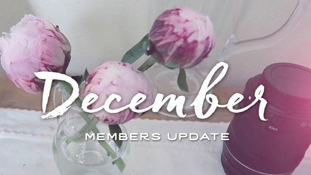 Members Update - December 2016