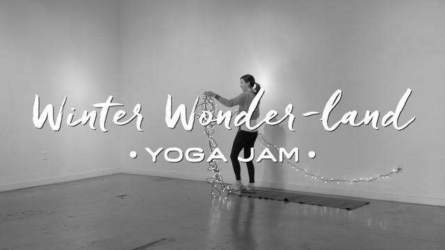 Winter Wonder-Land - Yoga Jam