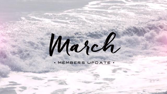 Members Update - March 2016