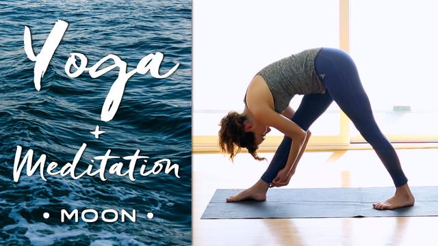 Yoga + Meditation - Moon