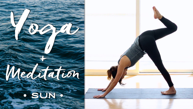 Yoga + Meditation - Sun
