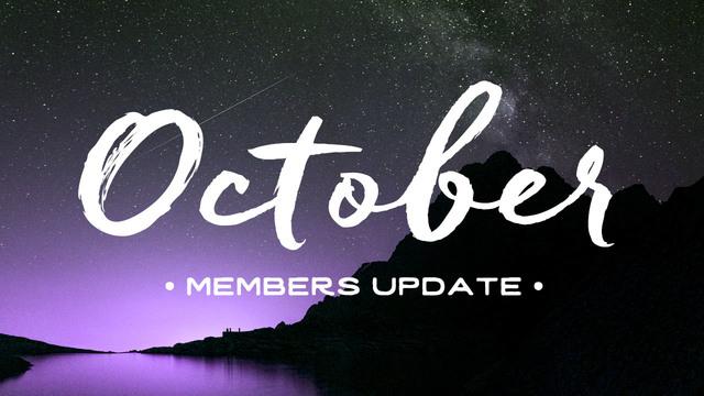 October 2016 - Members Update